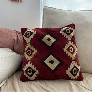 Southwest-themed accent pillow